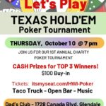 Texas Holdem October 2019